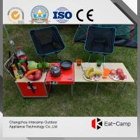 Wholesale Aluminum Alloy Folding Luggage Camping Cooking Station For Camping 7.4kgs from china suppliers