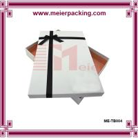 Wholesale Gift box, white paper gift box, clothing & apparel paper box for sale ME-TB004 from china suppliers