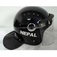 Buy cheap High Quality Army Military protect Police Anti Riot Helmet with Face shield from Wholesalers