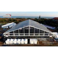 Tent 50 by 70 meter with transparent pvc roof cover from wholesalers