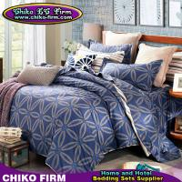 CKKH011-CKKH015 Reactive Printed Single Queen King Size Twill Cotton Bedding Sets