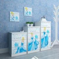 Wholesale E0 Grade Kids'/Children's Furniture/3/4/5 Drawer Chest/ Household Storage Containers, Cartoon Design from china suppliers