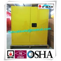 Wholesale 30 GAL Fireproof Hazardous Storage Cabinets For Flammable And Combustible Liquids from china suppliers