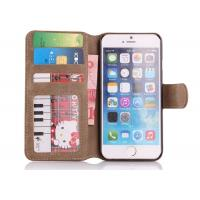 Wholesale Eco - Friendly Colorful Cell Phone Wallet Cases With Card Slot / Iphone 6 Protective Cover from china suppliers