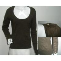 Wholesale Ladies Knitted Pullover, Cotton Sweater (SFY-A057) from china suppliers