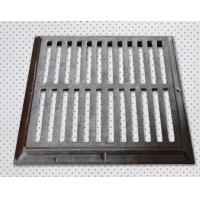 C250 gully gratings on road
