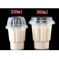 Wholesale 220 ml 360 ml PP plastic disposable cup for ice cream from china suppliers