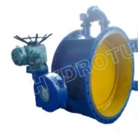 China Dia. 50 - 3000 mm Electric / Manual Flanged Butterfly Valve For Hydropower Equipment on sale