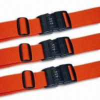 Wholesale 2 x 78-3/4-inch Luggage Strap/Belt, Various Kinds are Available, OEM Order are Welcome from china suppliers