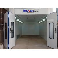 6.9M Standard Paint Booth , Car Spray Paint Booth Diesel Burner Heating