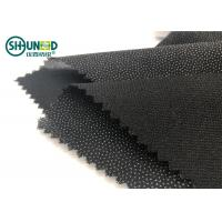 Wholesale Double Dot Fusible Interlining Fabric For Business Casual Suit Eco Friendly from china suppliers