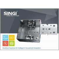 China Canadian UL hollow out rust - proofing metal outlet box / electrical wiring boxes on sale
