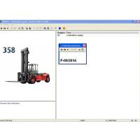 China 2014 Linde Lindos Parts Catalog EPC for ForkLift Trucks Truck Diagnostic Tool on sale