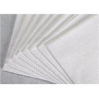 Wholesale 100% Tencel Spunlace Nonwoven Fabric Width Customised White Color For Wiping Cloth from china suppliers