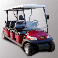 Wholesale Park 6 Seater Golf Cart Electric Sightseeing Car With 3.7kw KDS Motor from china suppliers