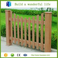Wholesale fence wpc materials wood plastic composite cladding Chinese company manufacturer from china suppliers