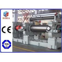 "Wholesale Customized Rubber Mixer Machine , Rubber Processing Machines 18"" Roller Working Diameter from china suppliers"