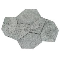 Wholesale Grey Volcanic Lava Flagstone Natural Stone Patio Paver from china suppliers