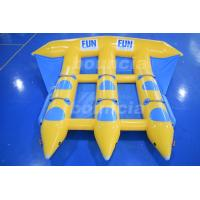 Wholesale 0.9mm Durable PVC Tarpaulin Inflatable Flying Fish Boat For Sale from china suppliers