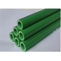 PN20 Plumbing Plastic PPR Pipe High Welding Performance For Drinking Water Systems