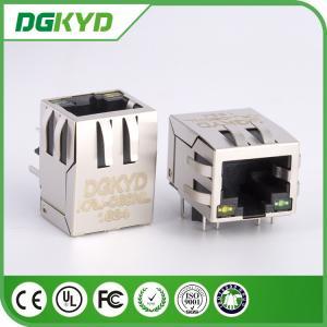 10/100M Tab Down cat5 RJ45 Modular Jack Integrated Filter for Net Card