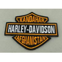 Wholesale Customized Applique Sequin Embroidery Patches / Harley Davidson Badges from china suppliers