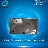 Wholesale Fresnel mirror lenses,PMMA Plastic Fresnel Minifier Lens,Wide-angle mirror reflection,ATM wide angle lens 120X75mm from china suppliers