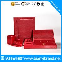 Wholesale Luxury leather hotel supplies/hotel kettle tray set leather/hotel room set from china suppliers