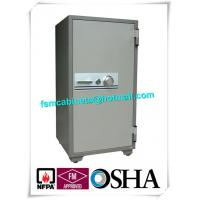 Wholesale Cupboard Fireproof Safety Storage Cabinets , Moistureproof Fire Safe Document Storage Cabinets from china suppliers