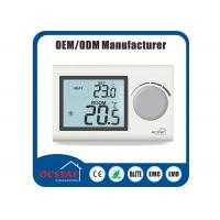 Wholesale Wall - Hung Gas Heater Thermostat , Boiler Water Heating System Digital Heating Thermostat from china suppliers