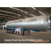 Wholesale ISO 57.5cbm liquid gas trailer / LPG transport tanker truck semi trailer from china suppliers