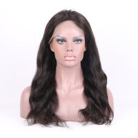 Wholesale Top Quality  8-26 Inches Natural Color natural Straight  Human Hair Full Lace Wigs 130% density from china suppliers