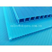 Wholesale Ultraviolet - Proof Clear Plastic Hollow Board Corrugated Environmentally Friendly from china suppliers