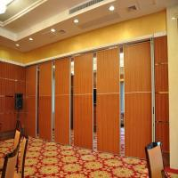 Wholesale Movable Folding sliding Partition Door On Aluminum Track Max 6000mm Height from china suppliers