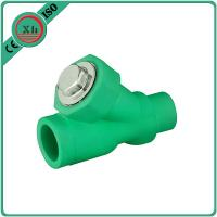 Wholesale Eco Friendly Water Filter Pipe Fittings , Durable PPR Straight Ball Valve from china suppliers