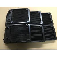 Wholesale 27mm thickness water cooled cpu radiator 80&120&240&360mm with G1/4 screw thread from china suppliers