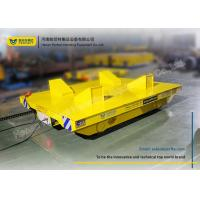 Wholesale Explosion Proof Rail Guided Vehicle / Motorised Rail Trolley For Steel Mill from china suppliers