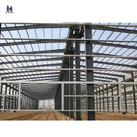 China prefab steel constructions / steel structures / steel fabrication on sale