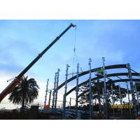 China Curved Architectural Structural Steel Beam / Arch Roof Building Structure Steel on sale