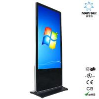 China High Resolution Touch Screen Display Kiosk , Interactive Touch Screen Digital Signage on sale