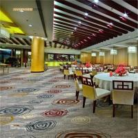 Buy cheap Axminster Banquet Hall Carpet 80% Wool 20% Nylon Antistatic Feature from wholesalers