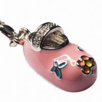 China Wine charm, made of lead and tin alloy or zinc alloy on sale