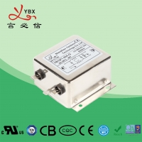 Wholesale Suppression EMC Power Line Filter YB28F1 15A Single Phase For Household Machine from china suppliers