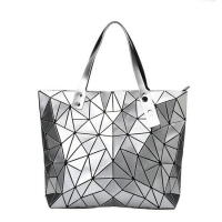 Wholesale Leather Bag Customizable Geometric Purses and Handbags Women Crossbody Travel Bags from china suppliers