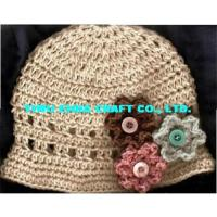 Wholesale 100% hand  crochet kufi caps, beanie hat from china suppliers