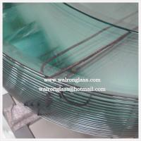 Wholesale Round Shape Clear/Frosted Tempered/Toughened Glass with Customized Size from china suppliers