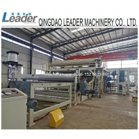Wholesale 2000-8000mm WIDTH HDPE LDPE LLDPE GEOMEMBRANE WATERPROOF SHEETS EXTRUSION MAKING MACHINE from china suppliers