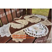 Wholesale 11pcs Burlap Lace Banner Bunting Jute Rustic Wedding Banner, Sweetheart Table Bunting banner Wedding love sign lace mate from china suppliers