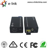 Wholesale Mini HDMI Fiber Optic Extender with external stereo audio from china suppliers