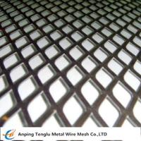 Wholesale Expanded Metal Grid|Flattened Expanded Mesh Customized Size by Stainless Steel or Aluminum from china suppliers